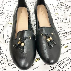 🆕 ALDO Everly Leather Loafers Size 7.5